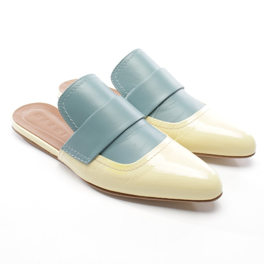 loafers from Marni in yellow and blue size EUR 39 - mules new