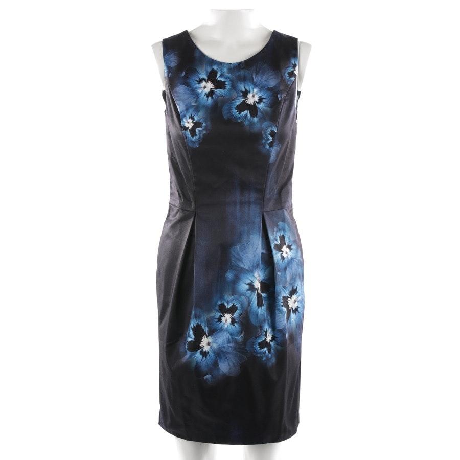 Kleid von Guido Maria Kretschmer in Schwarz und Blau Gr. 34 - Neu