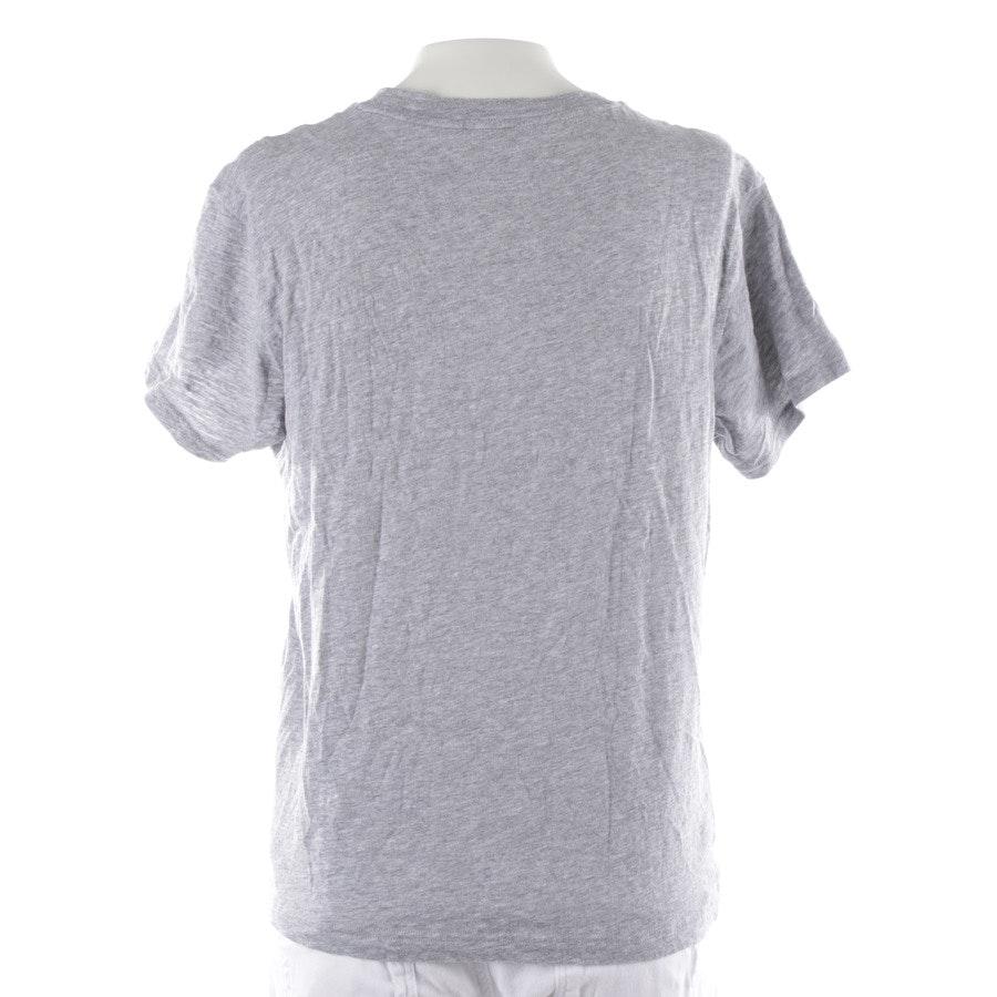 Shirt von Michael Kors in Grau meliert und Blau Gr. S