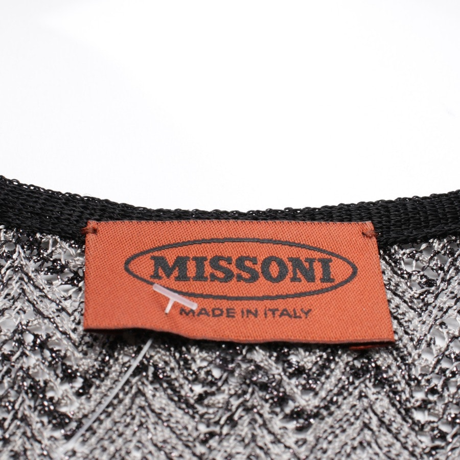 dress from Missoni in black and silver size 38