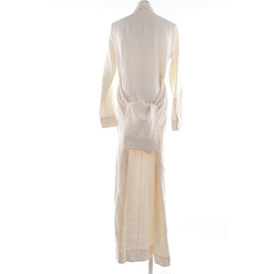 Leinenkleid von Jil Sander in Champagner Gr. 34