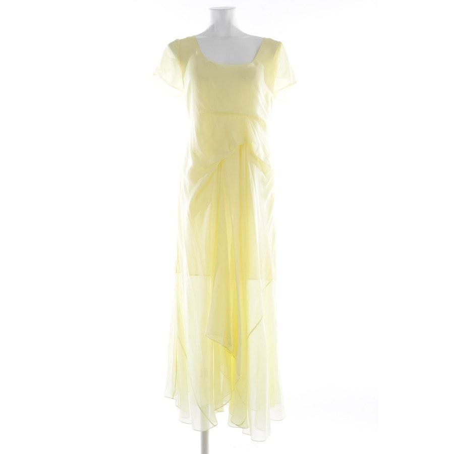 Seidenkleid von Sies Marjan in Pastellgelb Gr. 36 US 6 - Neu