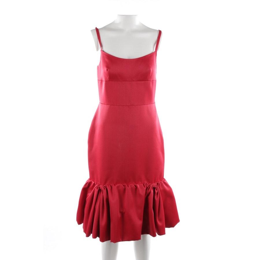 Kleid von Prada in Rubinrot Gr. 34 IT 40 - Neu