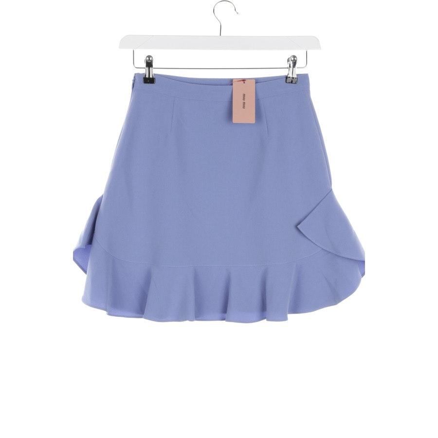 skirt from Miu Miu in lilac size 34 IT 40 - new