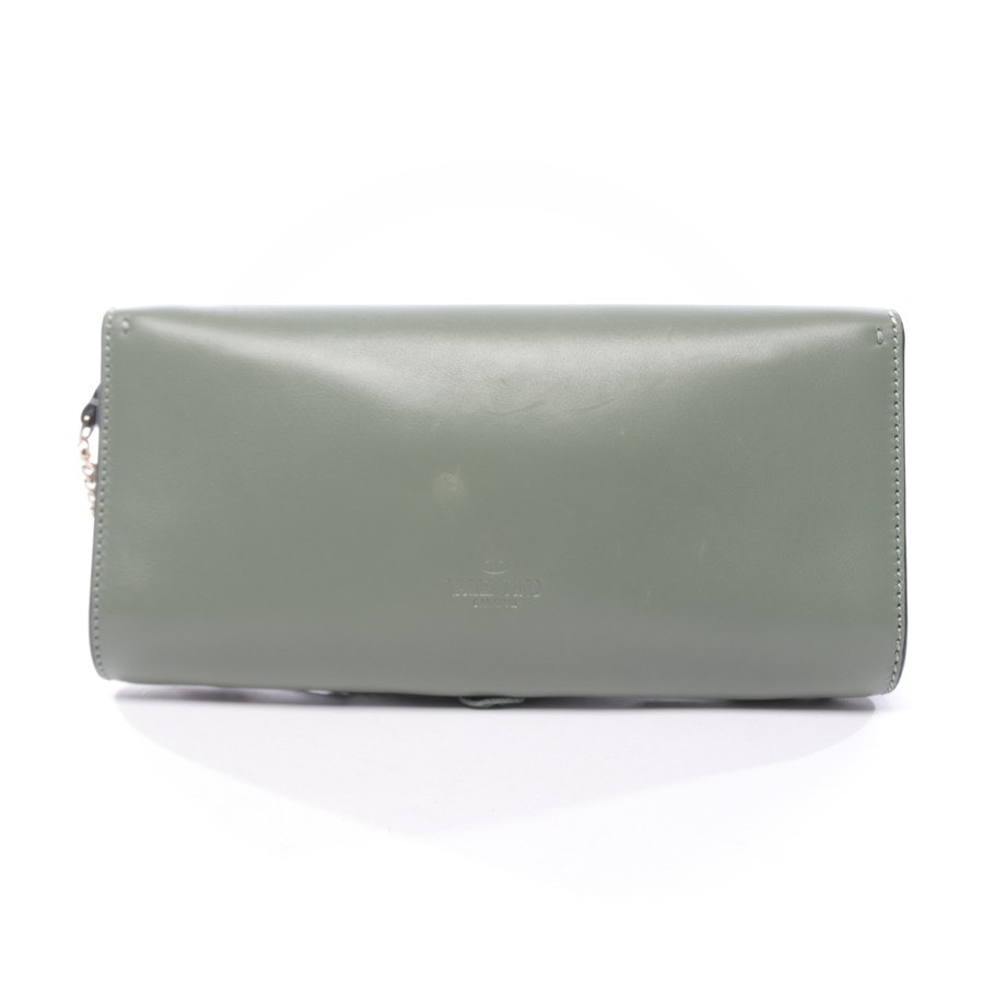 evening bags from Valentino in khaki