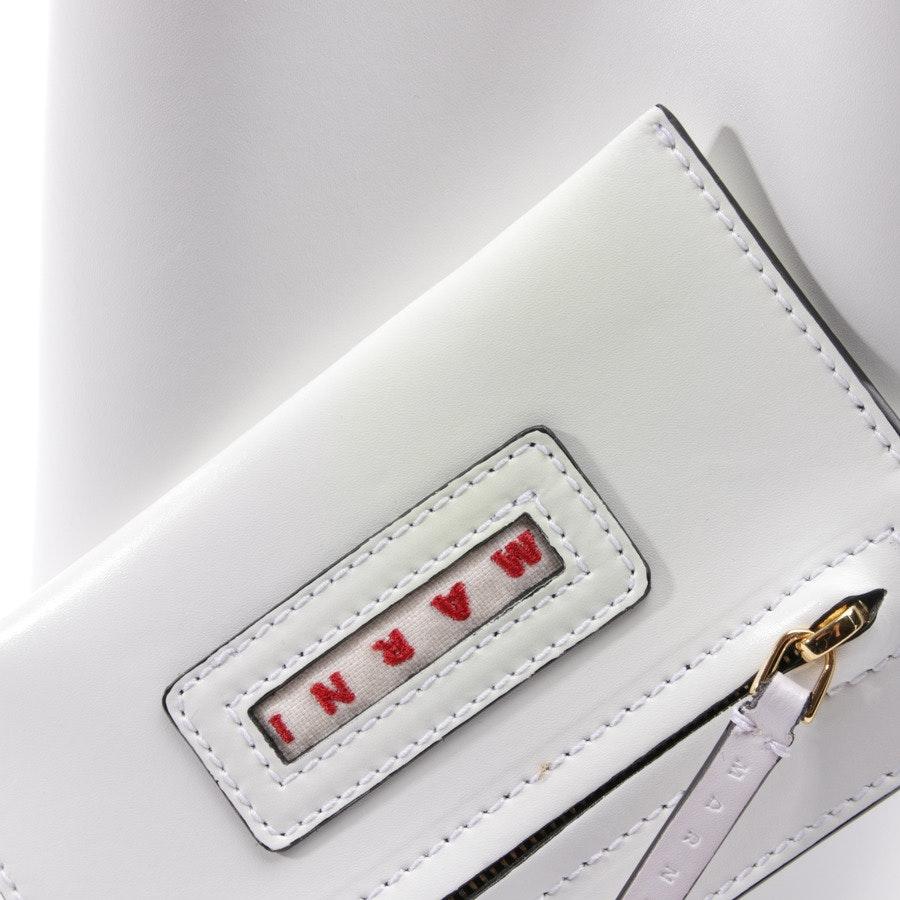 Handtasche von Marni in Creme - Neu