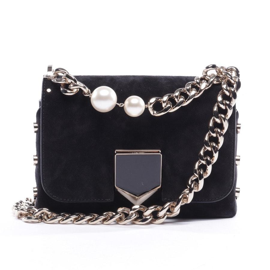 shoulder bag from Jimmy Choo in black - lockett petite - new