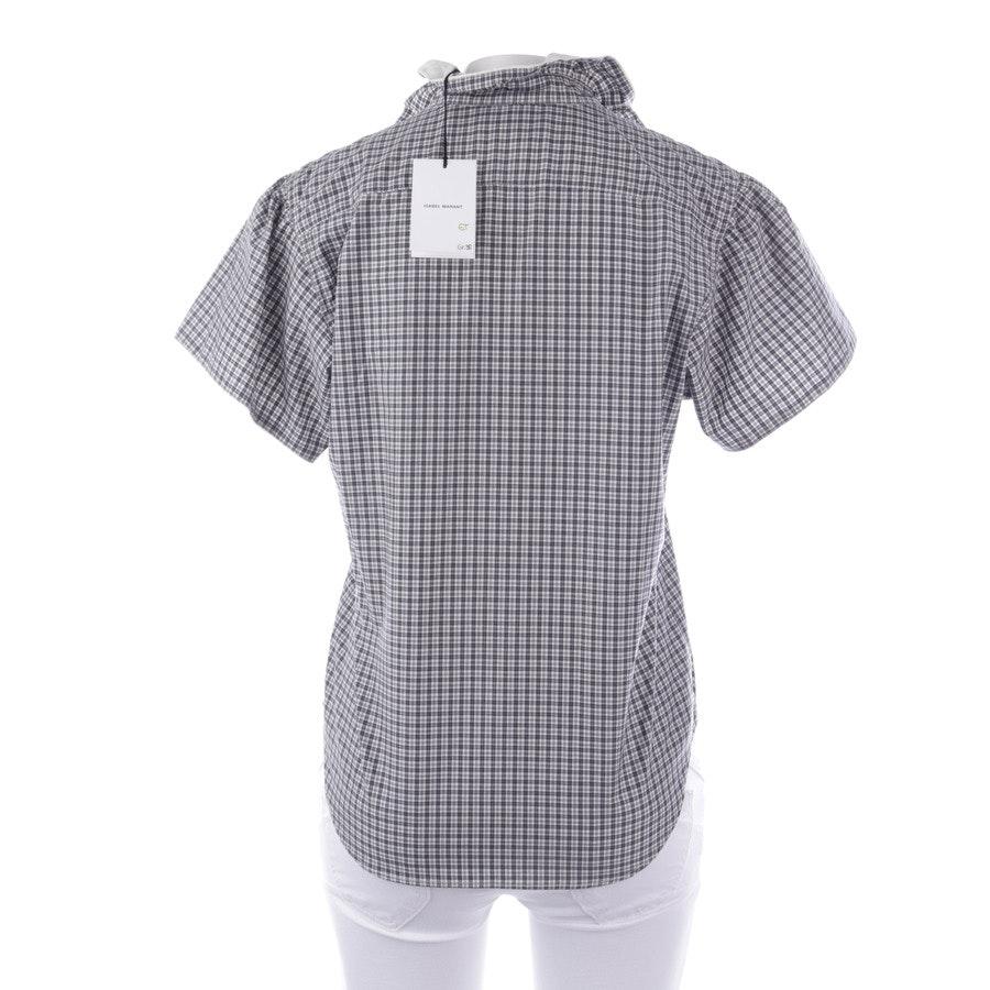 Bluse von Isabel Marant in Offwhite und Grau Gr. 38 FR 40 - Neu