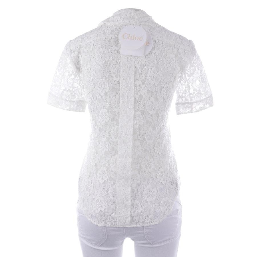 Bluse von Chloé in Weiß Gr. 34 FR 36 - Neu