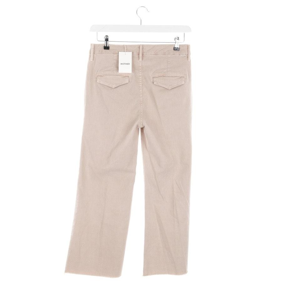 Jeans von Mother in Beige Gr. W28 - The Roller Crop-Neu