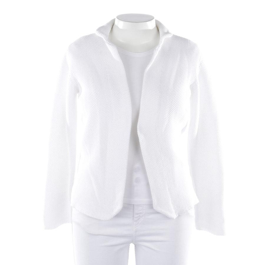 Strickcardigan von Fabiana Filippi in Weiß Gr. XL