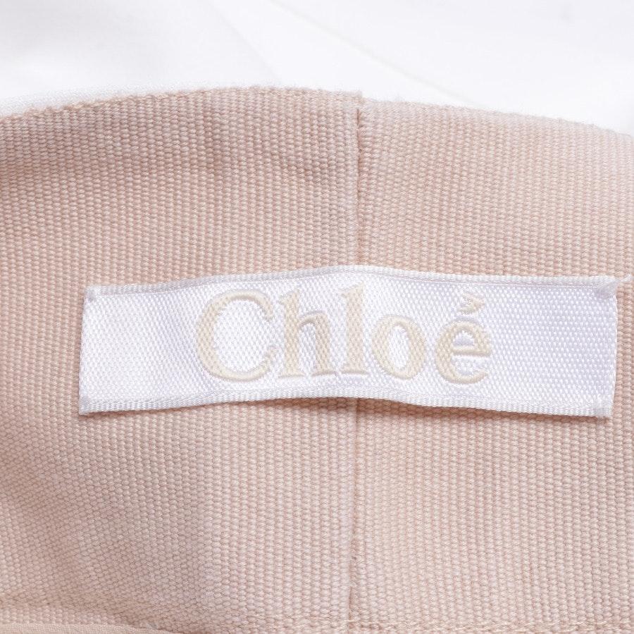 Freizeithose von Chloé in Weiß Gr. 40