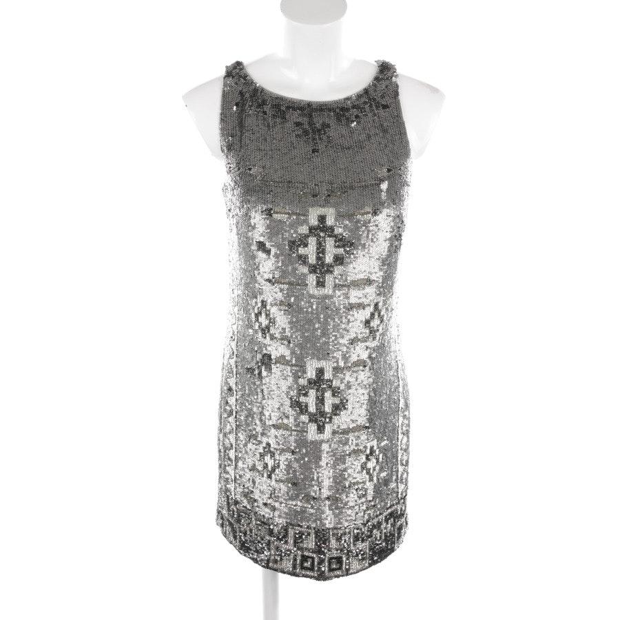 Paillettenkleid von Polo Ralph Lauren in Grau und Beige Gr. 34 US 4