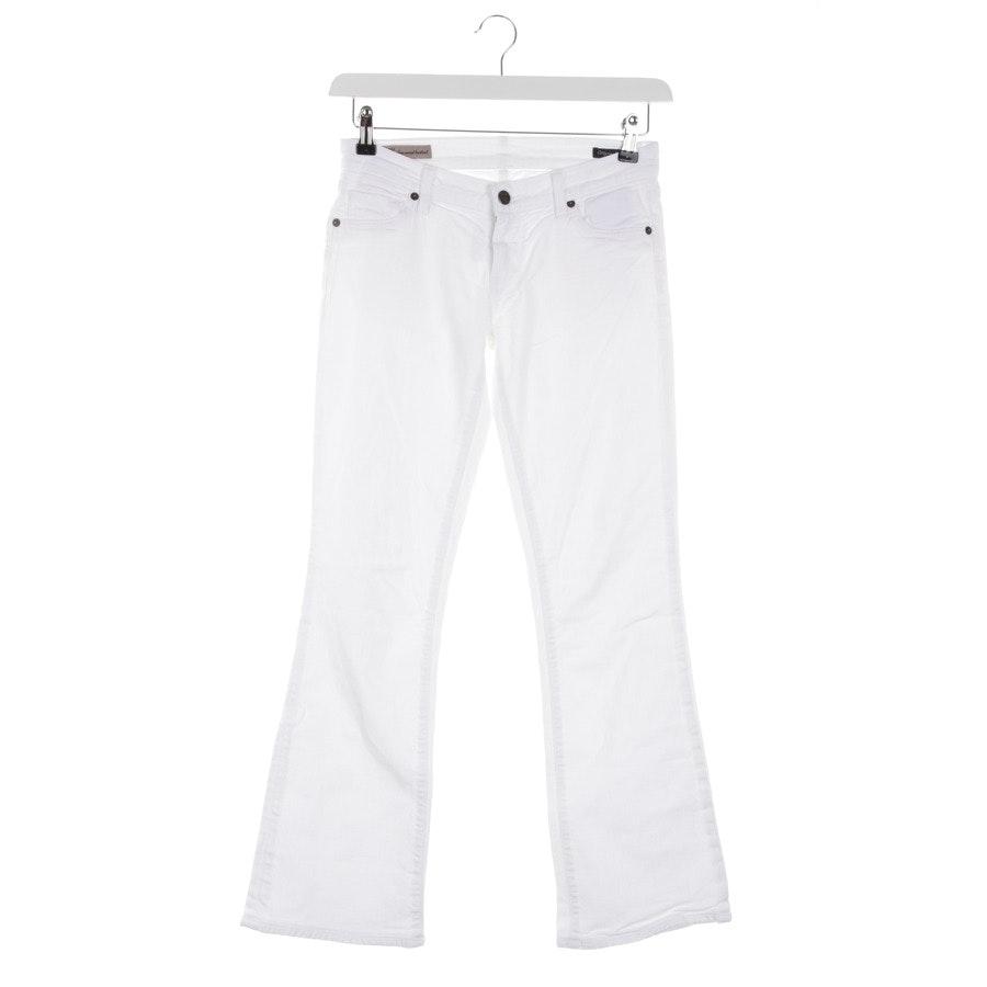 Jeans von Citizens of Humanity in Weiß Gr. 25 - Kelly