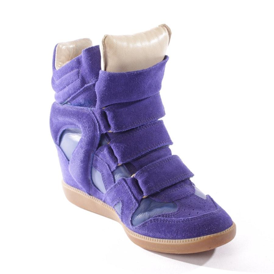 High-Top Sneakers von Isabel Marant in Cyanblau Gr. D 36 - Beckett