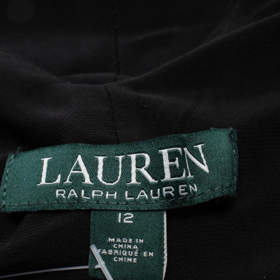 Cocktailkleid von Lauren Ralph Lauren in Schwarz und Multicolor Gr. 42 US 12 - Neu