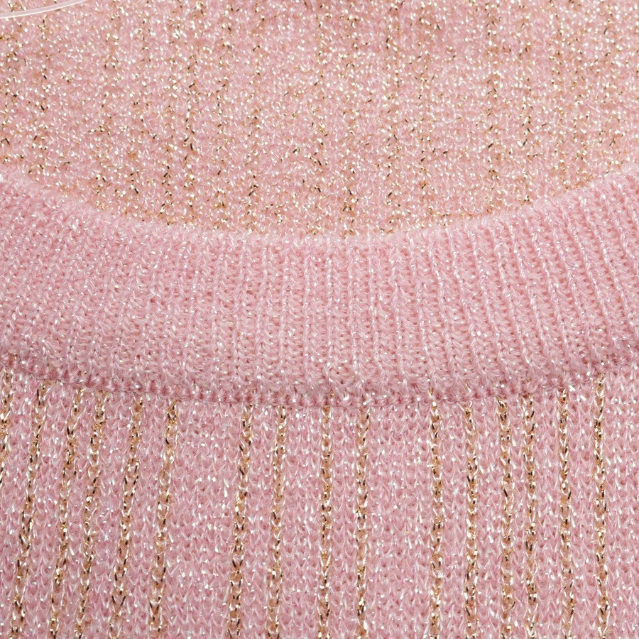 knitwear from Manoush in salmon pink and gold size 34 / 1