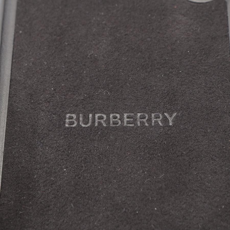 iPhone X Cover von Burberry in Schwarz