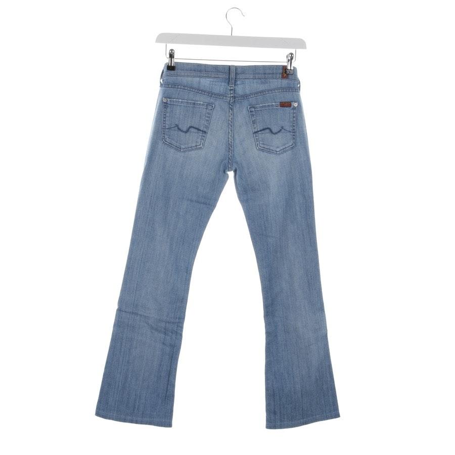 Jeans von 7 for all mankind in Hellblau Gr. W26 - Bootcut