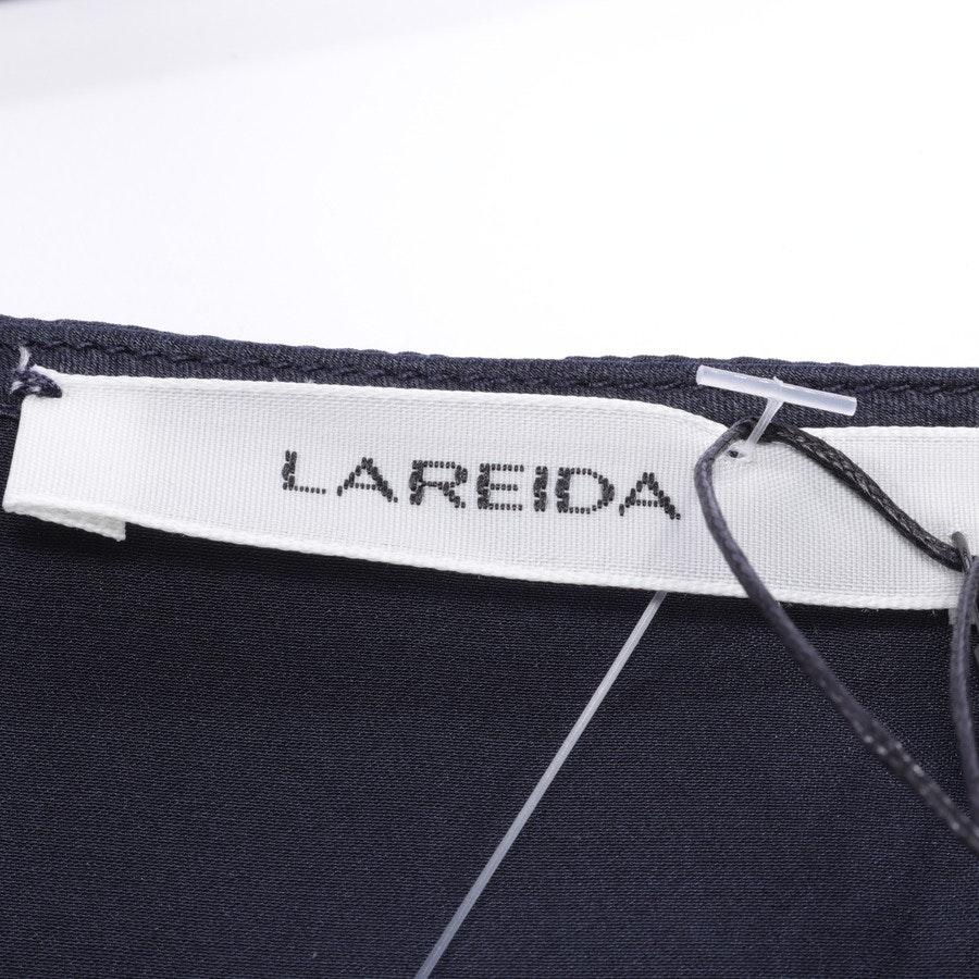 Seidenbluse von Lareida in Nachtblau Gr. 40 - NEU mit Etikett