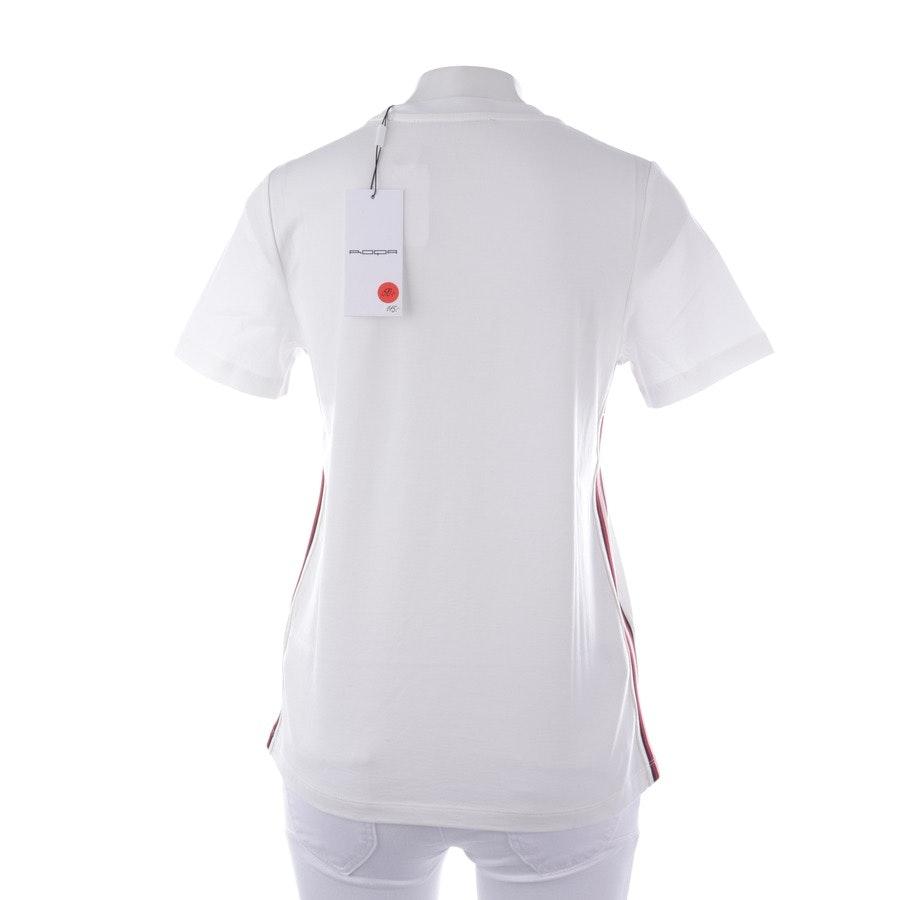 Shirt von Roqa in Weiß und Multicolor Gr. XS - Neu