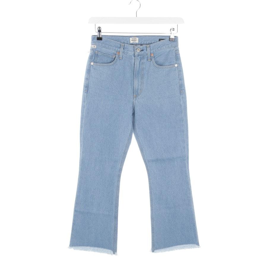 Jeans von Citizens of Humanity in Blau Gr. W30 - Estella Fray-Neu