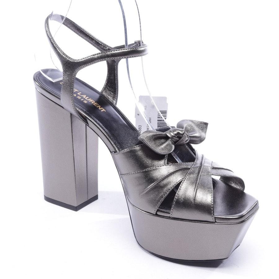 Sandaletten von Saint Laurent in Gold Gr. D 40 - Neu
