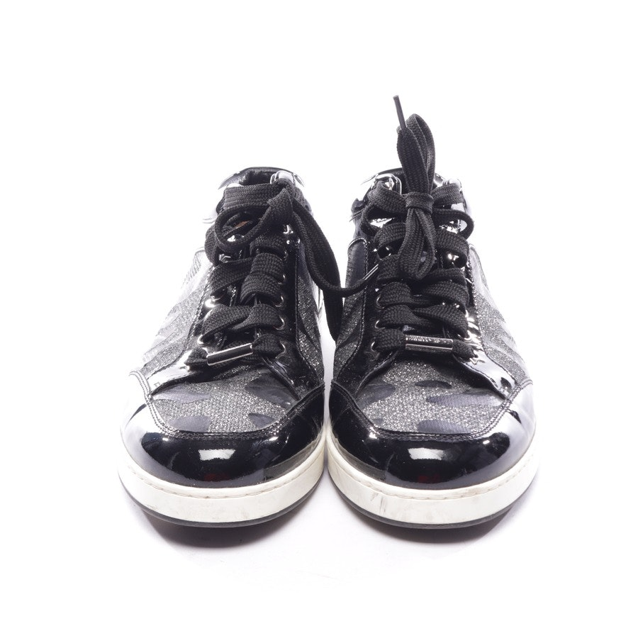 trainers from Jimmy Choo in black and silver size D 39