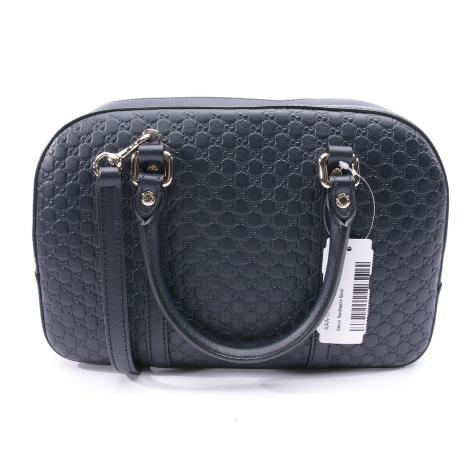 handbag from Gucci in dark blue - micro gg