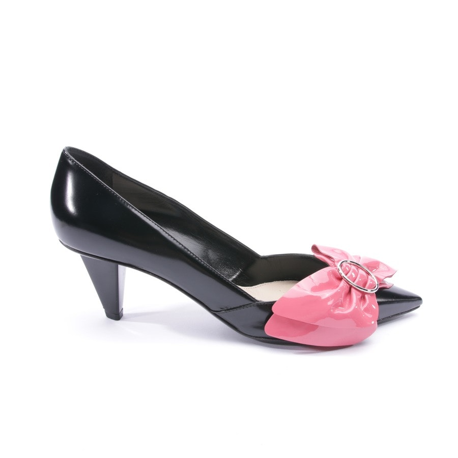 pumps from Prada in black and pink size D 37,5
