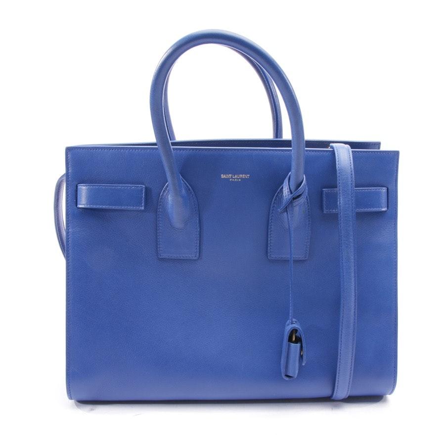 handbag from Saint Laurent in blue - sac du jour