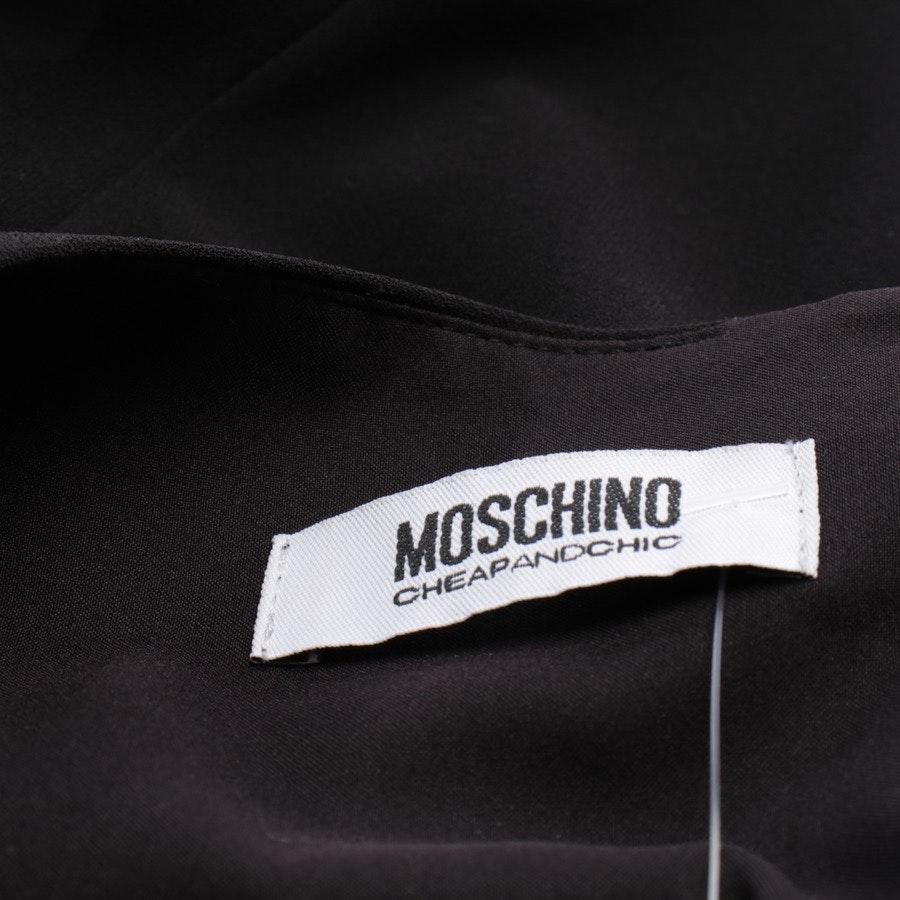Kleid von Moschino Cheap & Chic in Schwarz und Multicolor Gr. 38