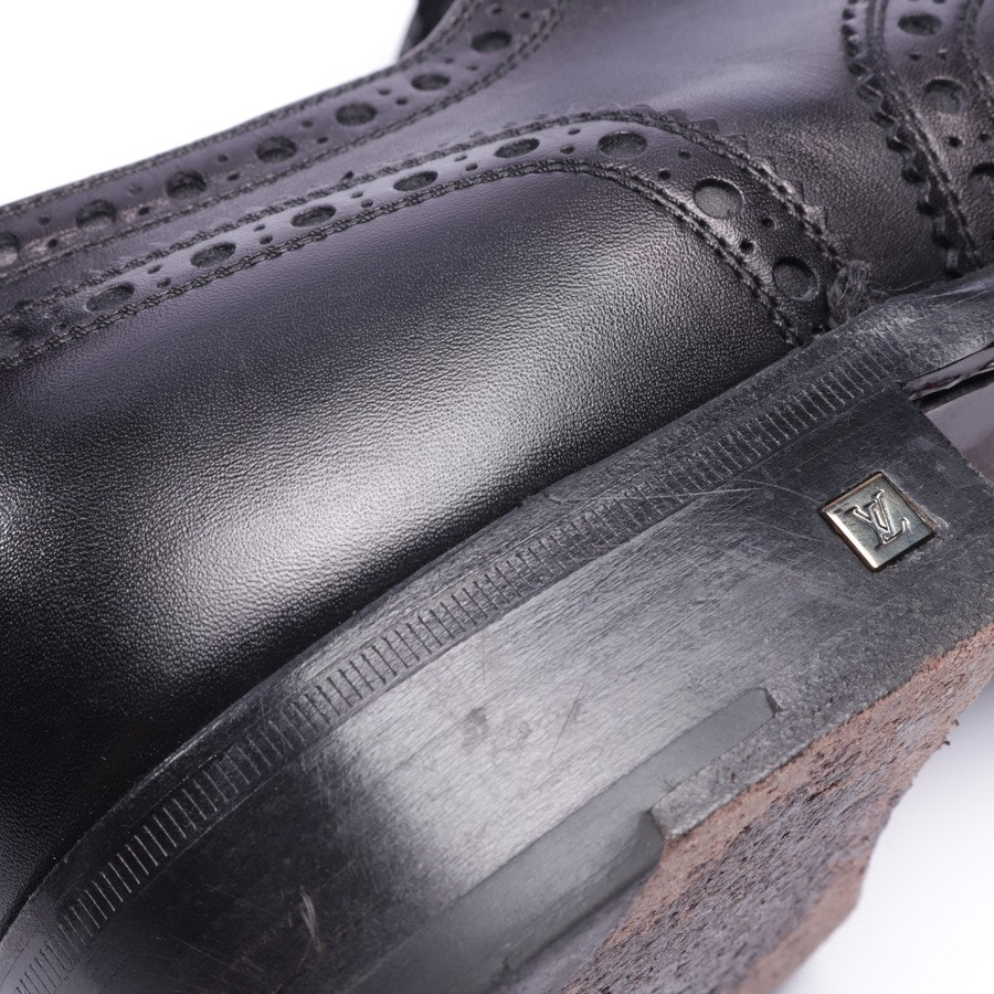 loafers from Louis Vuitton in black size EUR 44,5 UK 10
