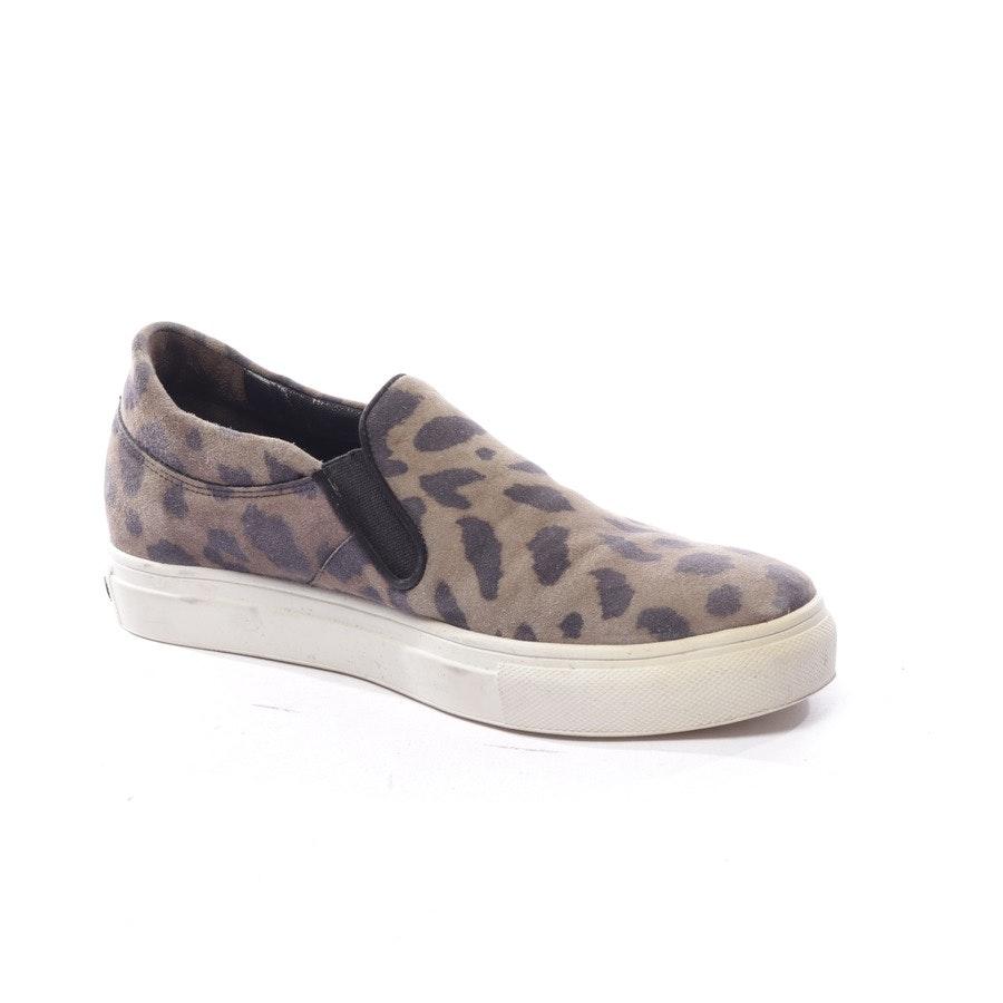 Sneaker von Kennel & Schmenger in Olivgrün und Schwarz Gr. D 37,5 UK 4,5