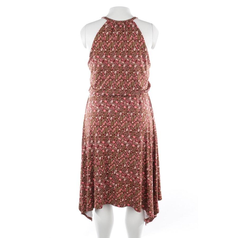 Sommerkleid von Rachel Zoe in Rubinrot und Grün Gr. L - Neu