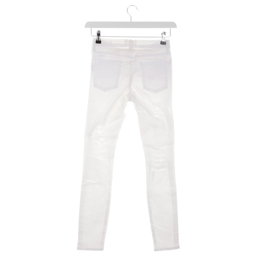 Jeans von Frame in Weiß Gr. W27 - Le Skinny