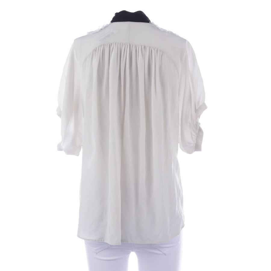 Blusenshirt von Dolce & Gabbana in Cremeweiß und Schwarz Gr. 30 IT 36