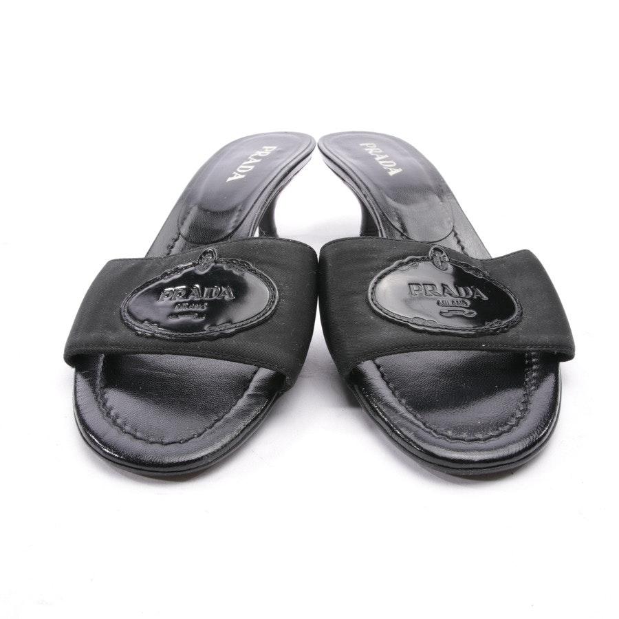 Sandaletten von Prada in Schwarz Gr. D 36