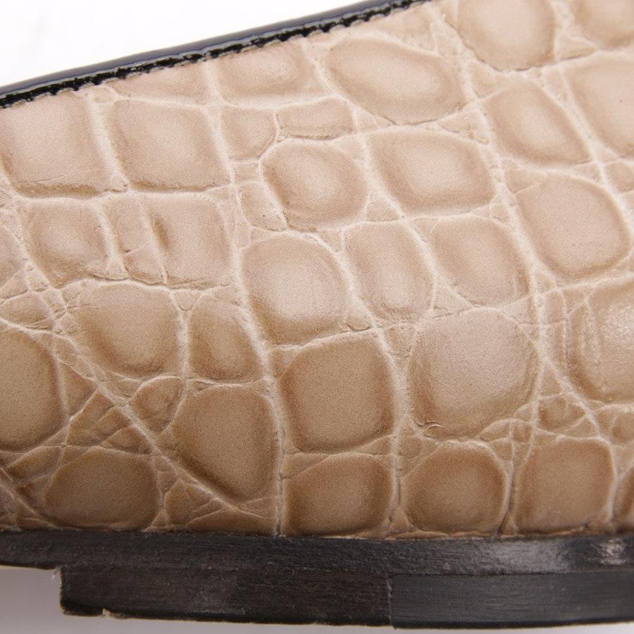 loafers from Jimmy Choo in beige size EUR 38