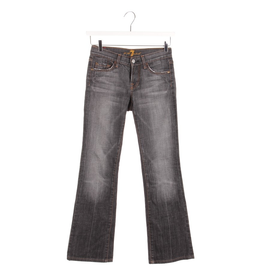 jeans from 7 for all mankind in grey size W26 - bootcut
