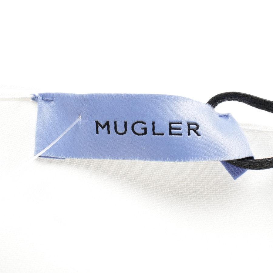 Kleid von Mugler in Cremeweiß Gr. 36 IT 42 - Neu