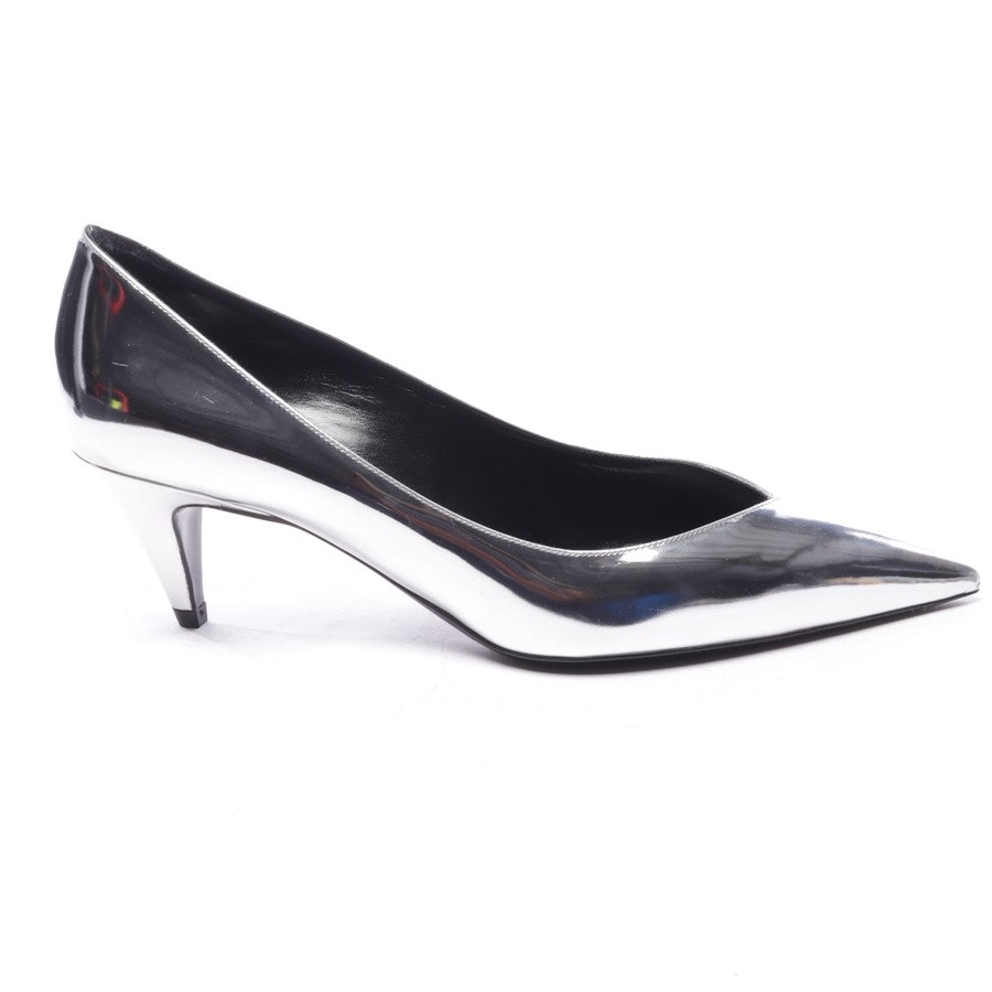 pumps from Saint Laurent in silver size D 40 - new