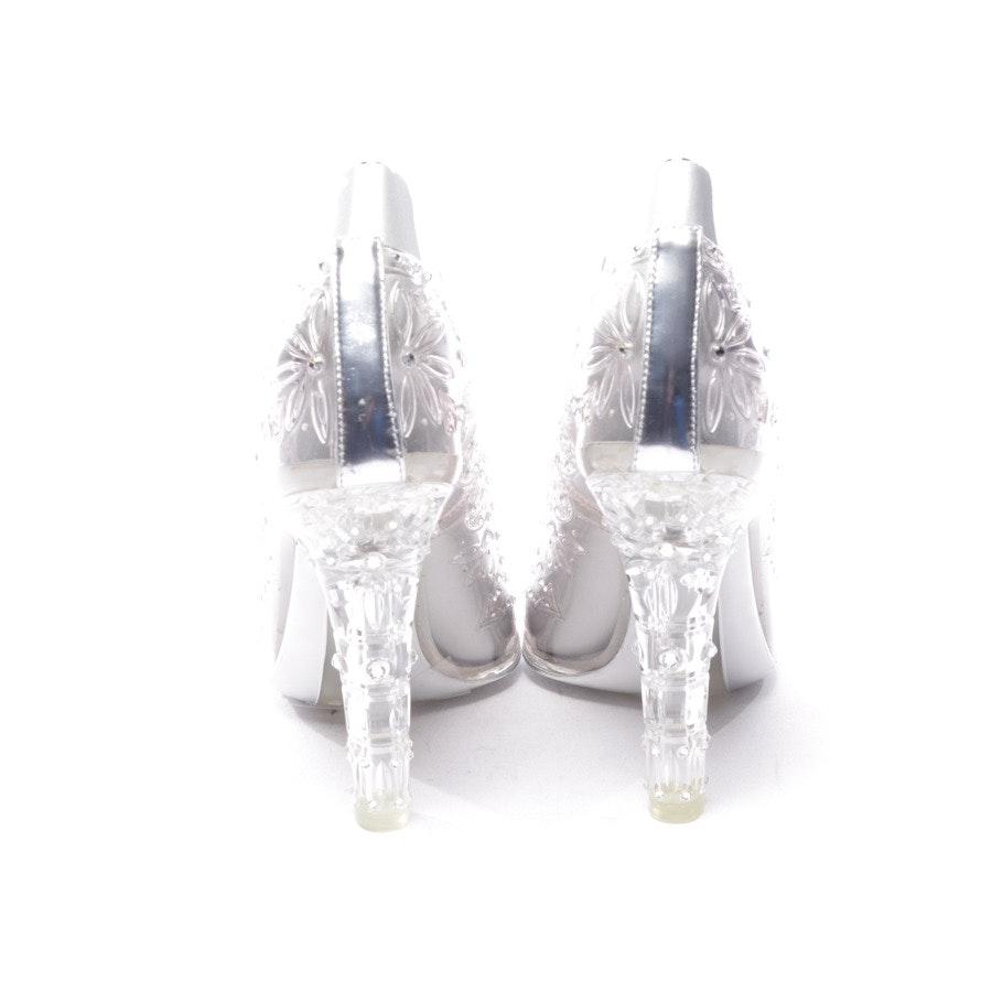Pumps von Dolce & Gabbana in Transparent Gr. D 37,5