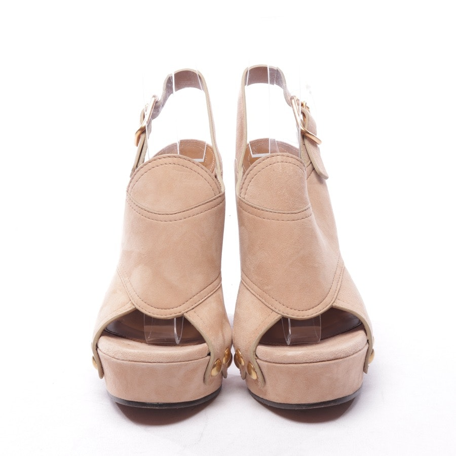heeled sandals from Chloé in beige size D 38