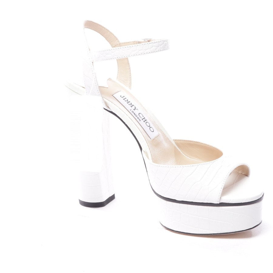 heeled sandals from Jimmy Choo in know size D 37 - peachy - new