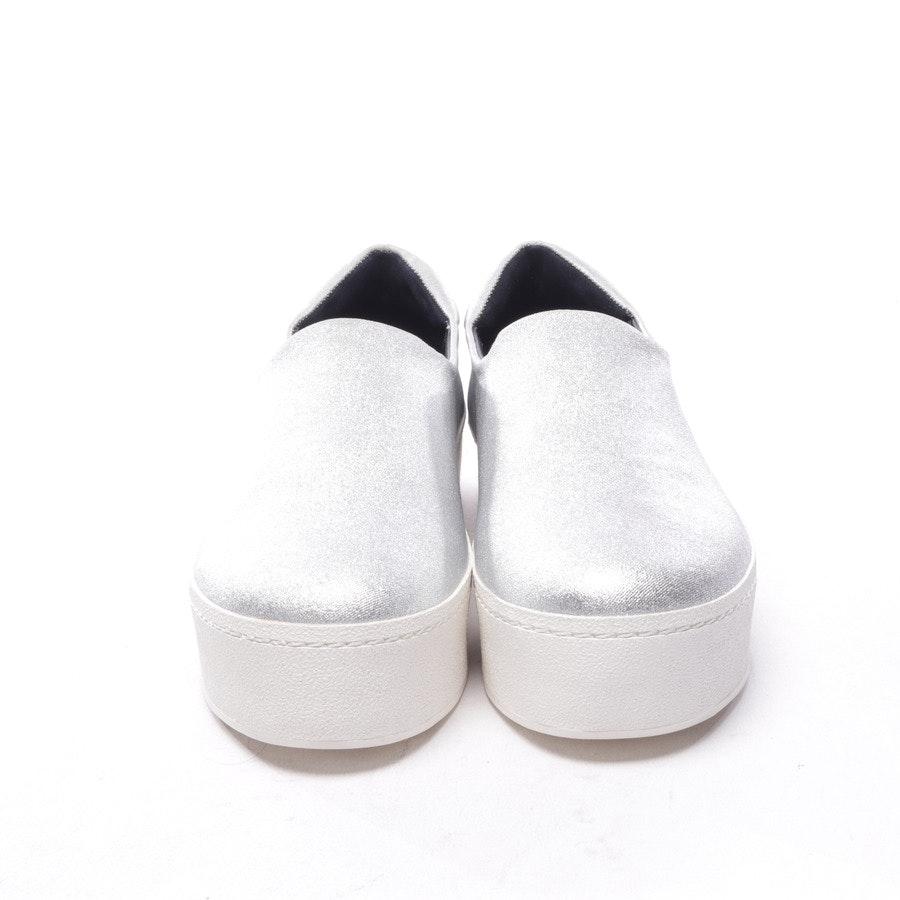 Sneaker von Opening Ceremony in Silber und Weiß Gr. D 40 - Cici - Neu