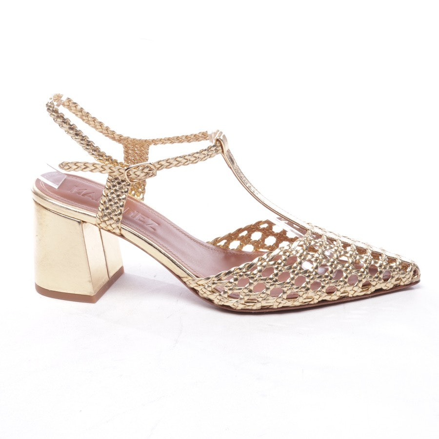 pumps from Martinez in gold size D 39 - new