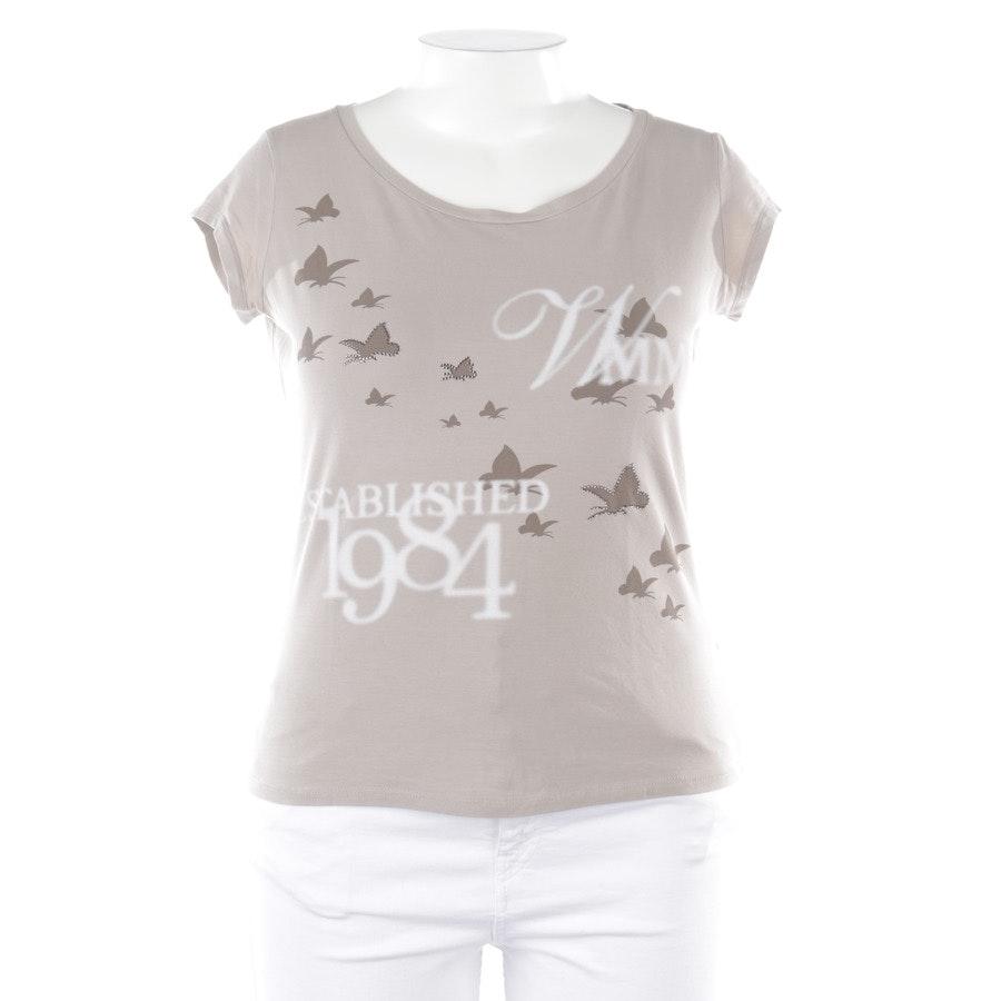 Shirt von Max Mara in Grège und Weiß Gr. XL