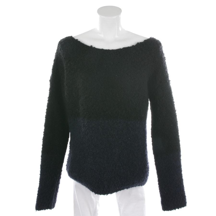 Pullover von Rich & Royal in Dunkelblau und Schwarz Gr. S