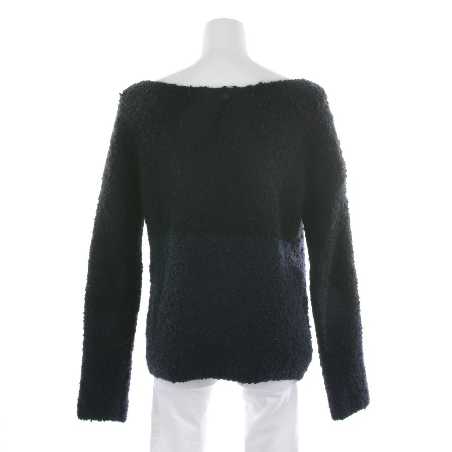 knitwear from Rich & Royal in dark blue and black size S